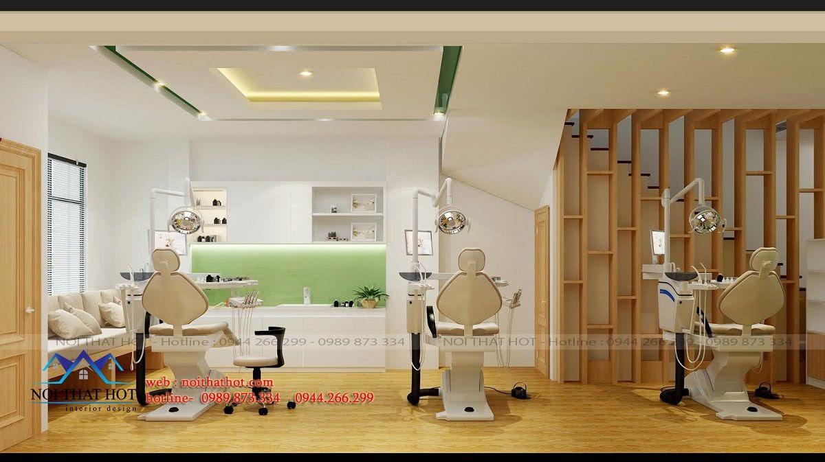 bố trí ghế khám răng