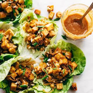 Firecracker Vegan Lettuce Wraps.