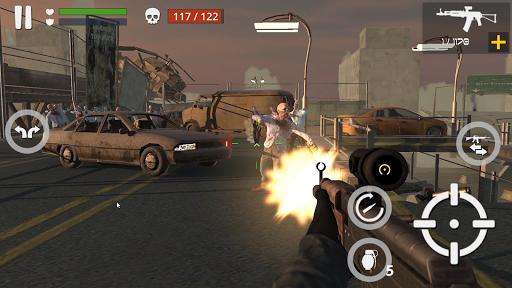 Dead Zombie Battle (Green Blood Version)  captures d'écran 1