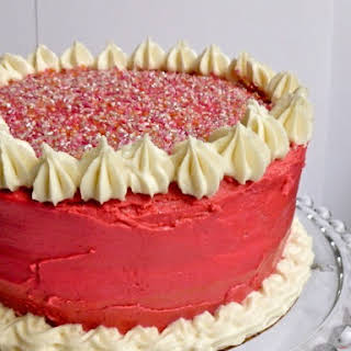 Sugar Mama's Gluten-free Vegan Vanilla Cake.