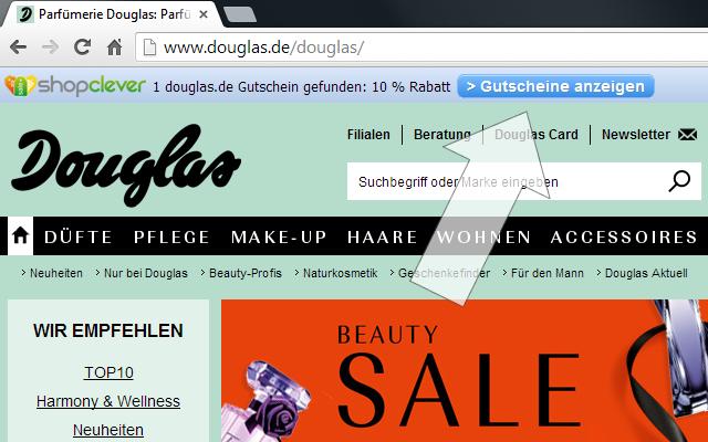 Gutscheincode Melder (von shopclever.de)