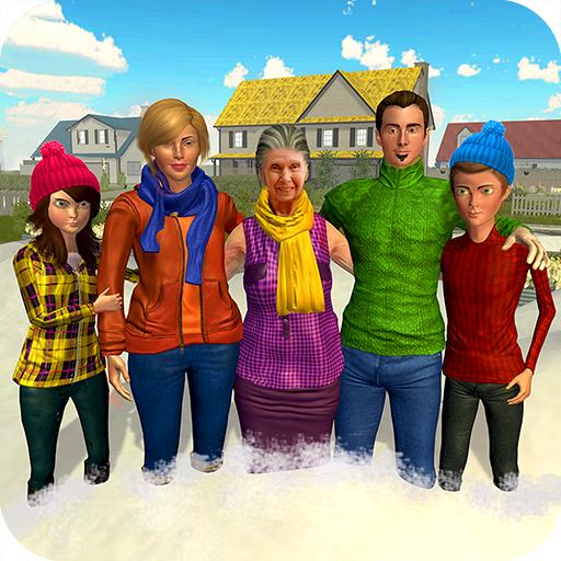 Virtual Mom Grandmother Nanny: Family Fun Games