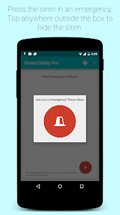 Shake2Safety PRO - Safety app Screenshot