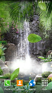 3D Waterfall Live Wallpaper 1.0.7 Mod + Data for Android 2