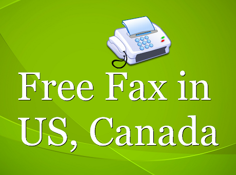 Free Fax in the US, Canada