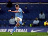 Kevin De Bruyne is wederom bepalend voor Manchester City