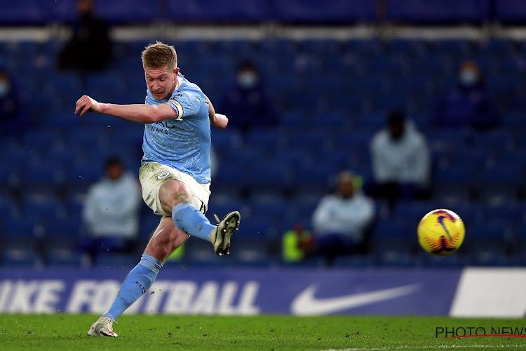 Kevin De Bruyne helpt Manchester City aan de overwinning!
