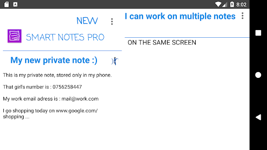 Smart notes PRO Screenshot