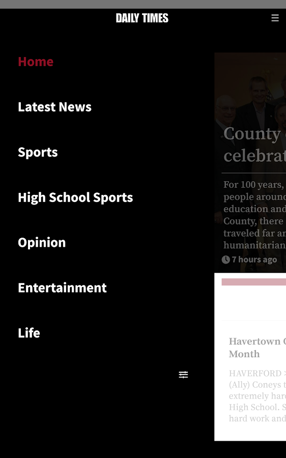 Delaware County Daily Times- screenshot