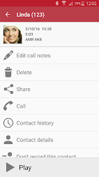 Automatic Call Recorder APK screenshot thumbnail 3