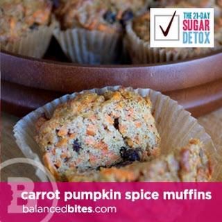 Carrot Pumpkin Spice Muffins