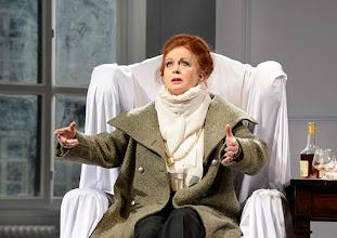 Photo: Wien/  Theater in der Josefstadt: AM ZIEL von Thomas Bernhard. Premiere am 12.3.2015. Andrea Jonasson. Foto: Barbara Zeininger.