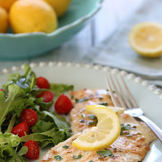 Chicken Francese – Lightened Up