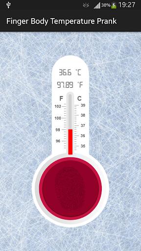 指紋体温シミュレータ