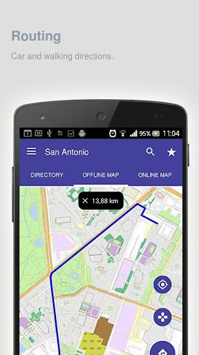 San Antonio Map offline  screenshots 7