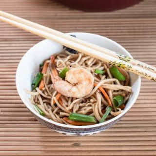 15 min Shrimp Chow Mein Recipe - Easy Chinese One-Pot Noodle How to [+Video].
