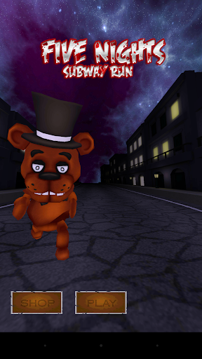 Five Nights at Subway Run 3D