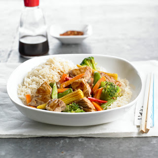 Ginger Pork Stir-Fry.
