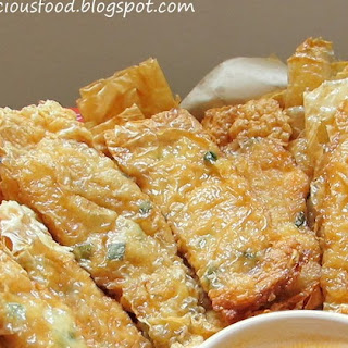 Beancurd Skin Rolls with Shrimp Filling Recipe