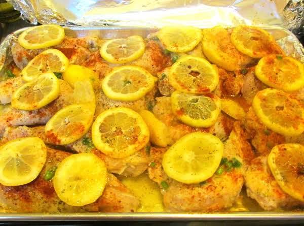 20 Cloves  Lemon Garlic Chicken Recipe