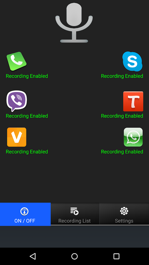 Real Call Recorder- screenshot