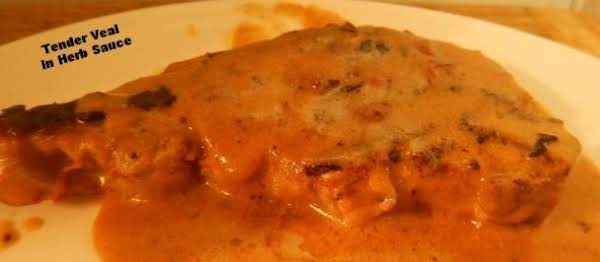Tender Veal In Herb Sauce Recipe