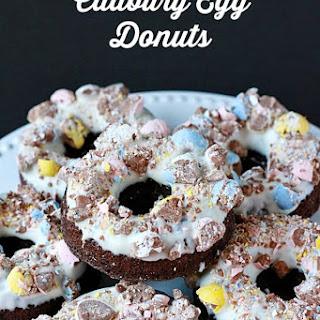 Baked Cadbury Egg Donuts