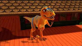 I'm a T.rex!/Ned the Quadruped