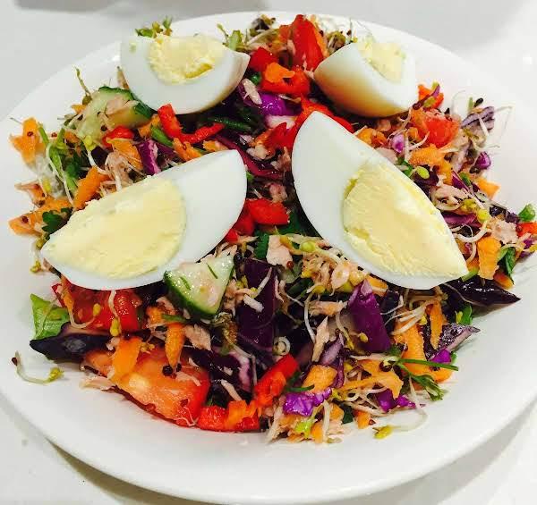 Booster Rainbow Salad Recipe