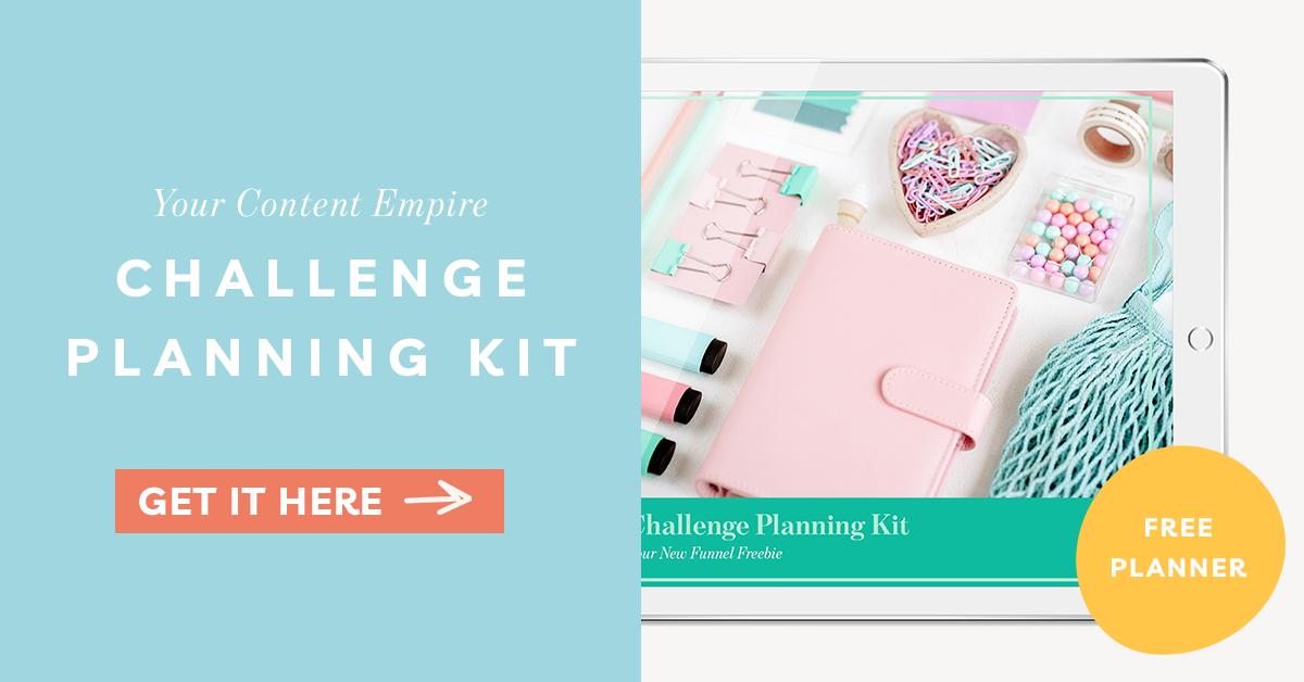Freebie | Challenge Planning Kit