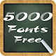 Download 5000 Fonts Free For PC Windows and Mac