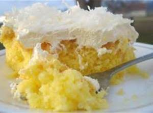 Lemon Pineapple Cake Recipe