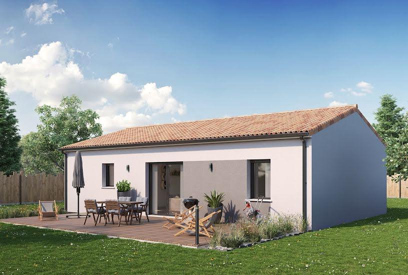 Vente Terrain + Maison - Terrain : 658m² - Maison : 69m² à Le Pin-en-Mauges (49110)