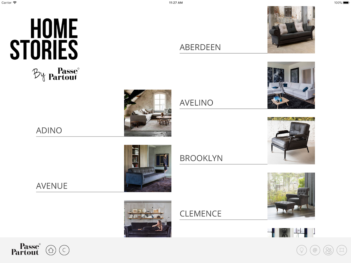 Home Stories by Passe Partout- screenshot