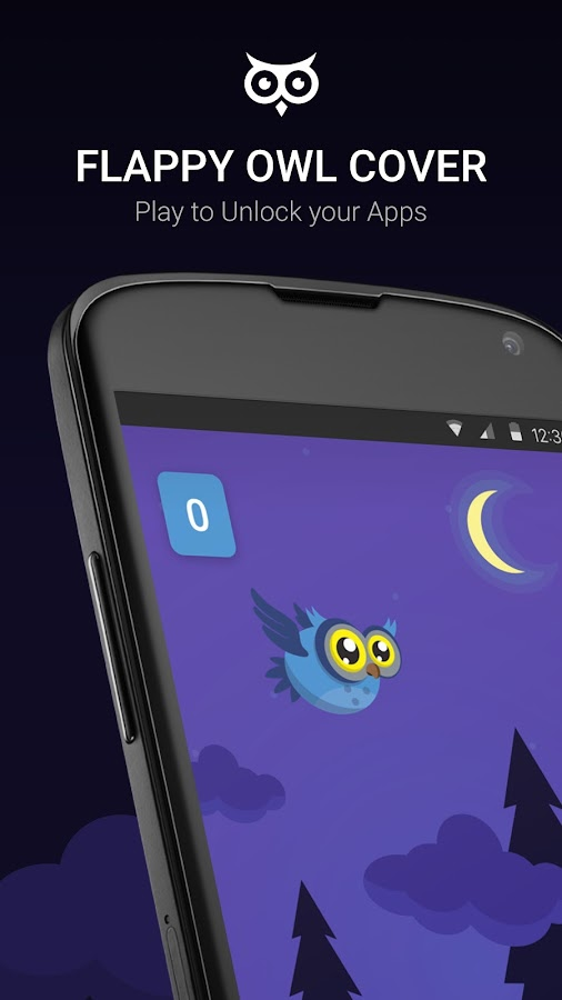 Flappy Owl Cover- screenshot