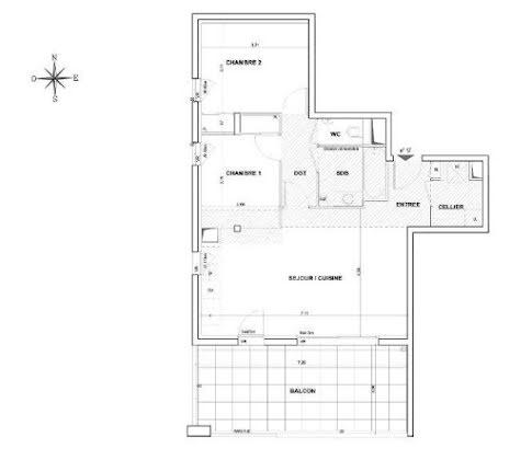 Vente appartement 3 pièces 67,15 m2