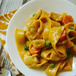 Cooking Planit Meal Planning App - Creamy Chicken Pasta Recipe #EatFreshChallenge.