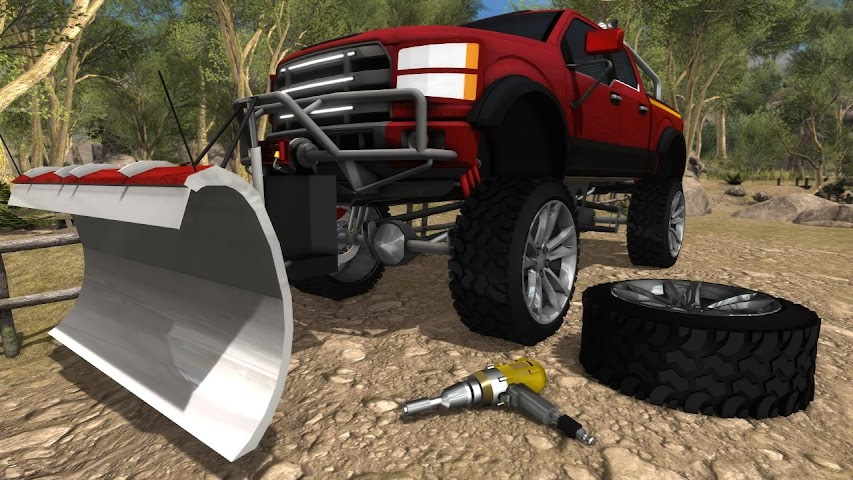 android Fix My Truck: Offroad Pickup Screenshot 2