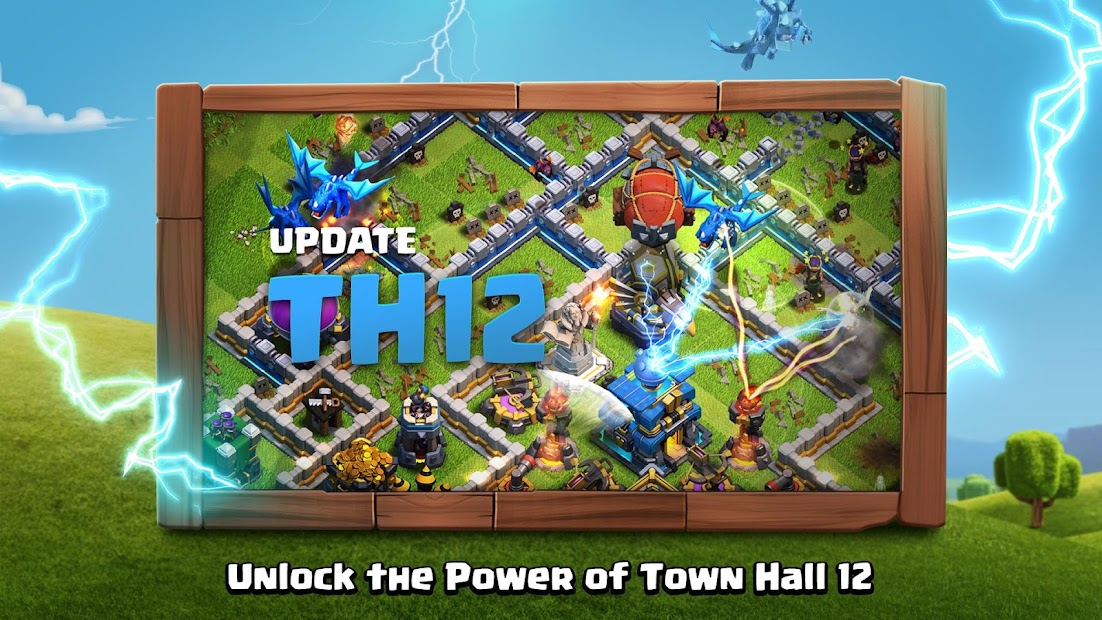 Clash of Clans Android App Screenshot