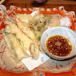 tempura at the IKA center in Tokyo, Tokyo, Japan