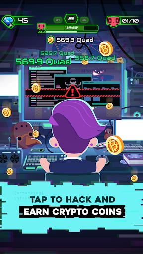 Hacking Hero - Cyber Adventure Clicker 1.0.3 screenshots 2