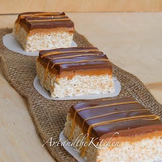 Chocolate Caramel Rice Krispies Recipes.