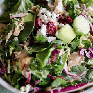 Zesty Grilled Chicken and Greens Salad.