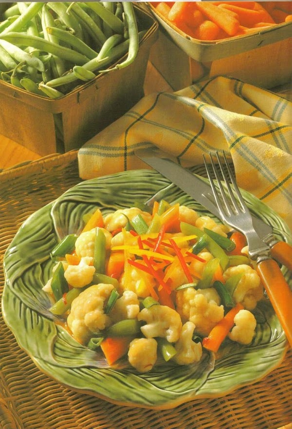 Trim ends and remove any strings from beans; discard. Cut beans diagonally into thirds...