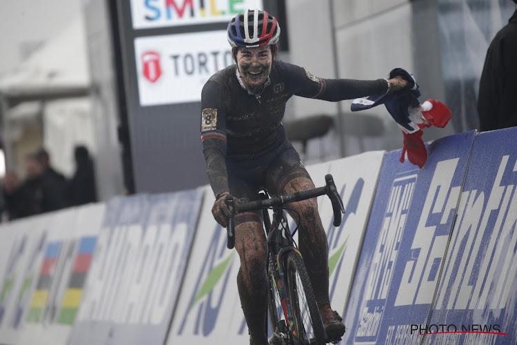 Franse wereldkampioene veldrijden is vanaf nu Belgische