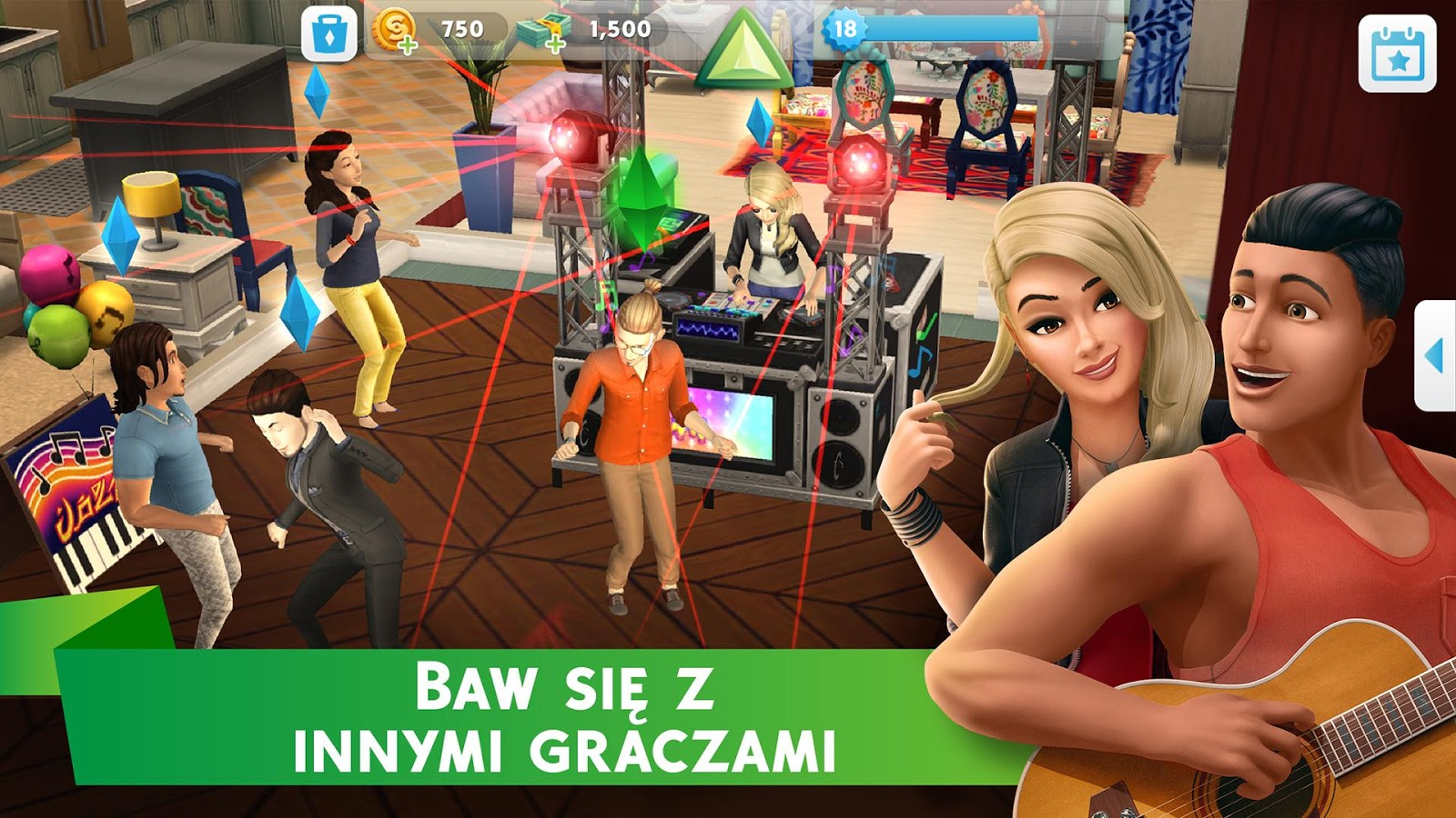The Sims Mobile – zrzut ekranu