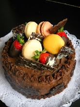 Photo: Tarta de chocolate deliciosa - http://elparaisodelosgolosos.blogspot.com.es/2014/07/tarta-de-chocolate-deliciosa-y-descanso.html - Encarnita
