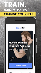 BetterMen: Workout Trainer [Premium APK] [Latest] 1