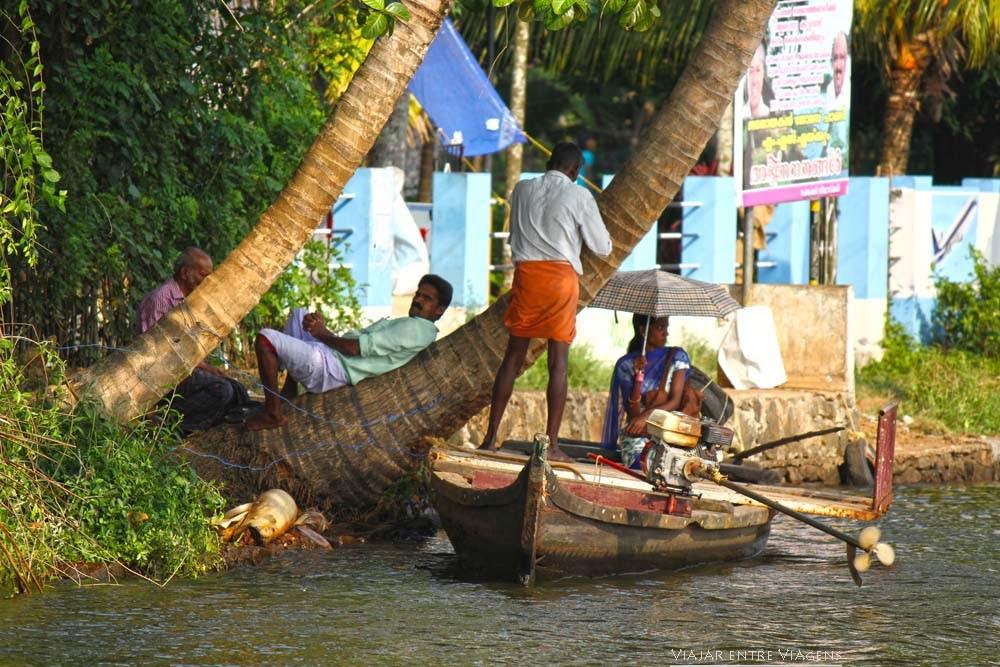 backwaters kerala India