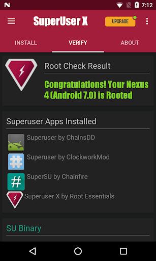 Superuser X Free [Root] L screenshots 4